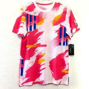 NWT Men Nike Dri-Fit Pink Shirt Size S